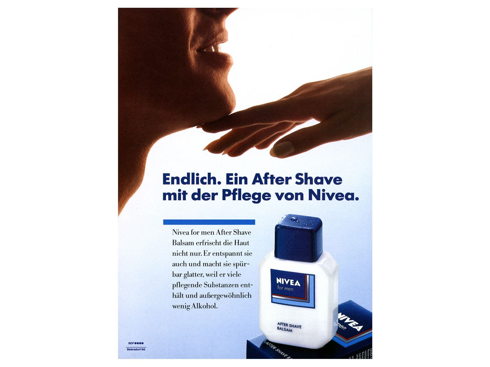 "NIVEA FOR MEN reklaam ""After Shave"" 1986. aastast"